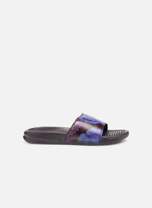 Mules et sabots Nike Wmns Benassi Jdi Print Violet vue derrière