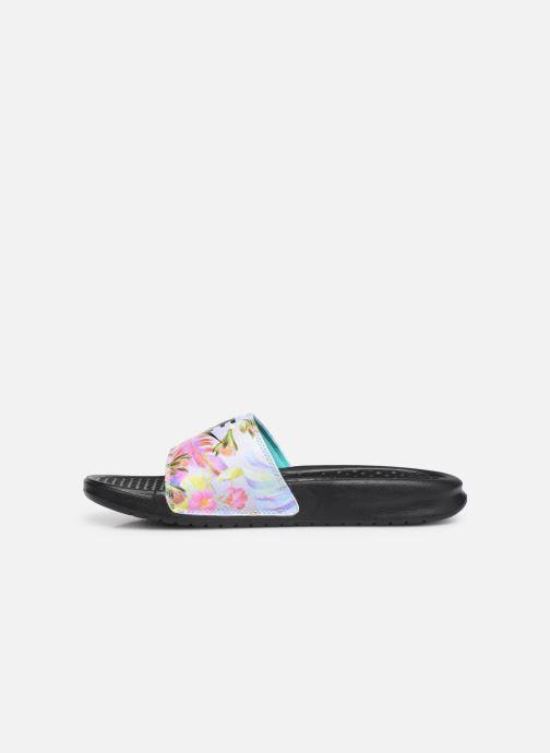 Mules & clogs Nike Wmns Benassi Jdi Print Black front view