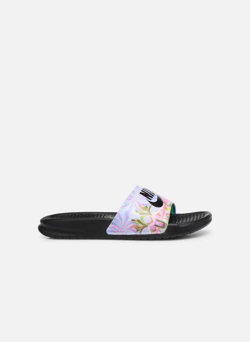 Mules & clogs Nike Wmns Benassi Jdi Print Black back view