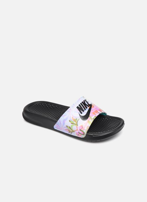 Mules & clogs Nike Wmns Benassi Jdi Print Black detailed view/ Pair view