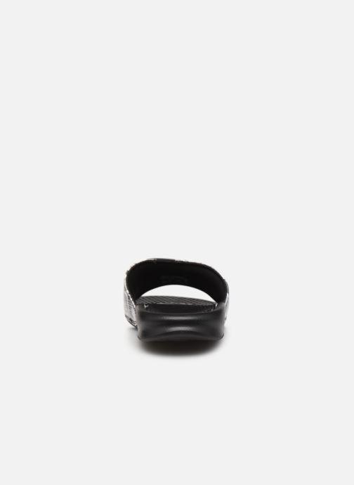 Clogs & Pantoletten Nike Wmns Benassi Jdi Print schwarz ansicht von rechts