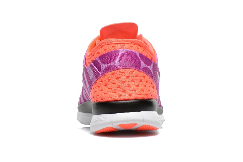 Chaussures de sport Nike Wmns Nike Free 5.0 Tr Fit 5 Prt Violet vue droite