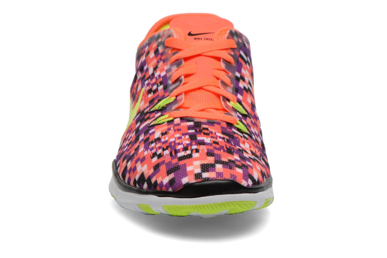 Chaussures de sport Nike Wmns Nike Free 5.0 Tr Fit 5 Prt Multicolore vue portées chaussures