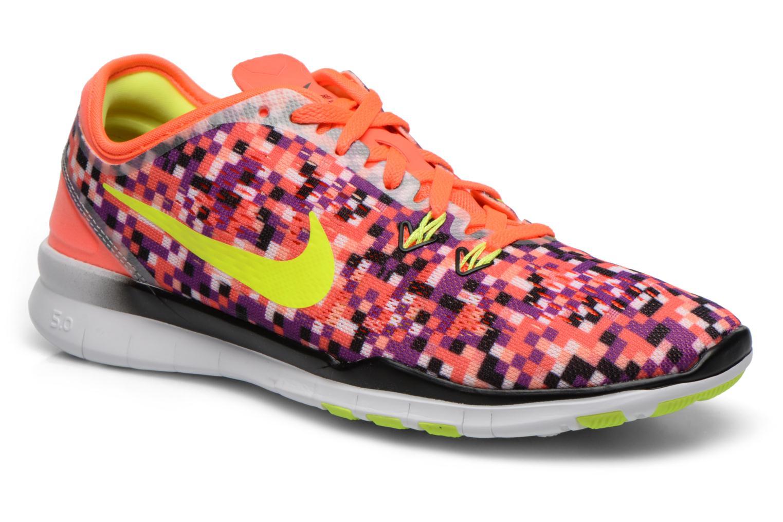 Chaussures de sport Nike Wmns Nike Free 5.0 Tr Fit 5 Prt Multicolore vue détail/paire