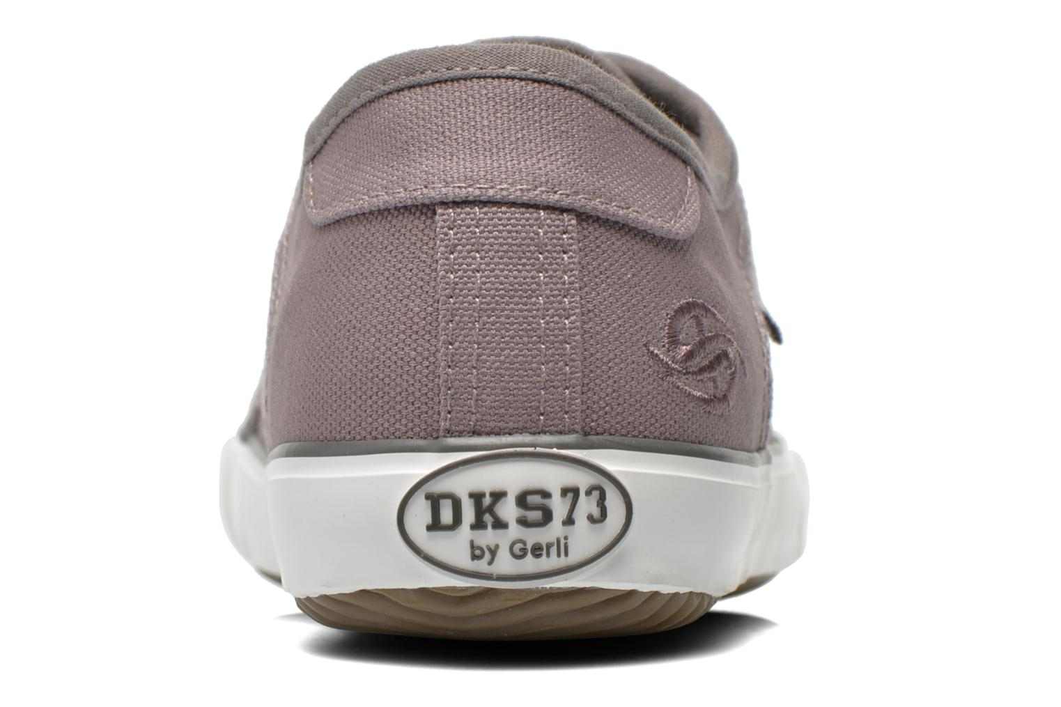 Trainers Dockers Luppé Grey view from the right