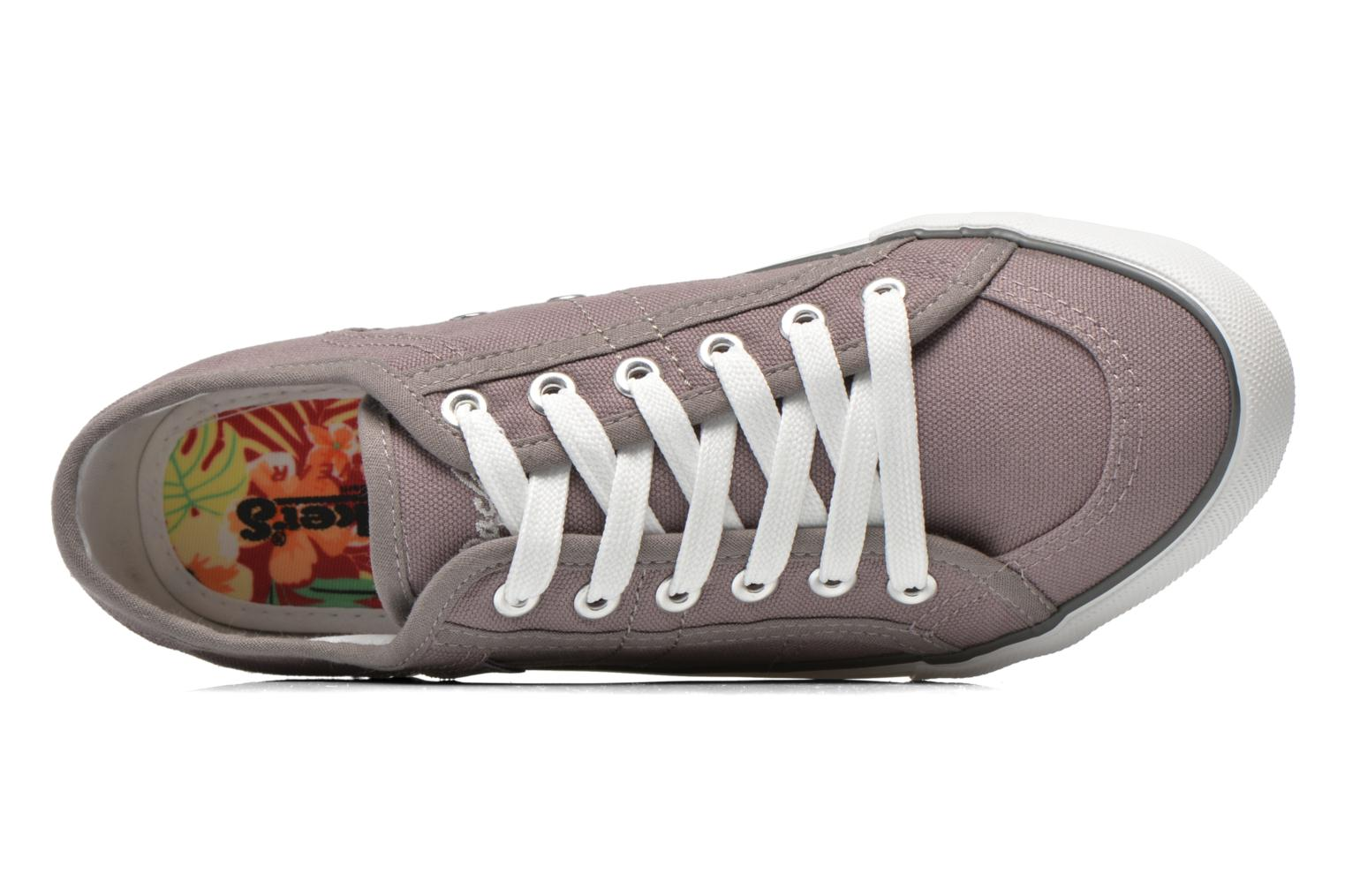 Trainers Dockers Luppé Grey view from the left
