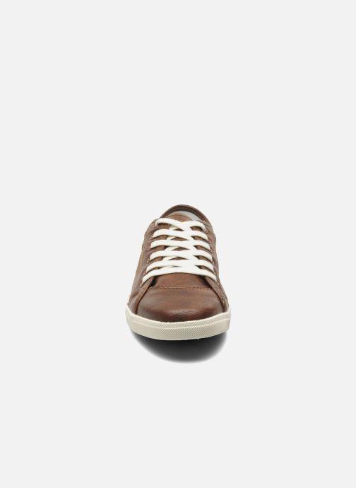 Baskets Dockers Maria Marron vue portées chaussures