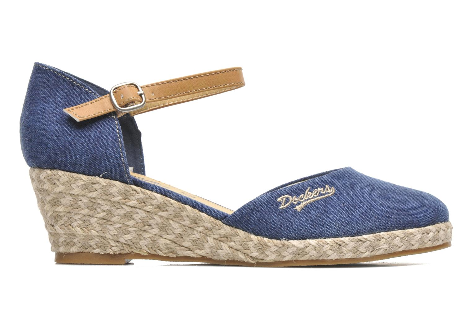 Sandals Dockers Valet Blue back view