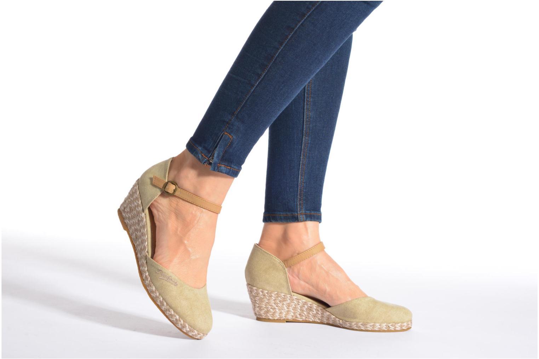 Sandales et nu-pieds Dockers Valet Beige vue bas / vue portée sac