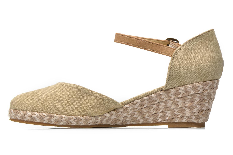 Sandales et nu-pieds Dockers Valet Beige vue face
