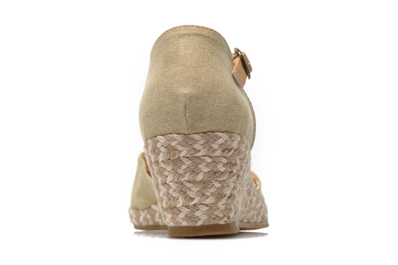Sandales et nu-pieds Dockers Valet Beige vue droite