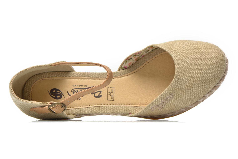 Sandales et nu-pieds Dockers Valet Beige vue gauche