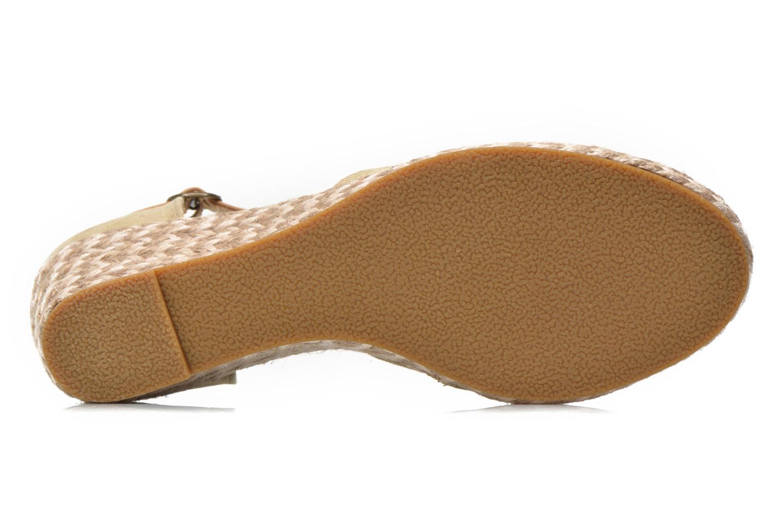 Sandales et nu-pieds Dockers Valet Beige vue haut
