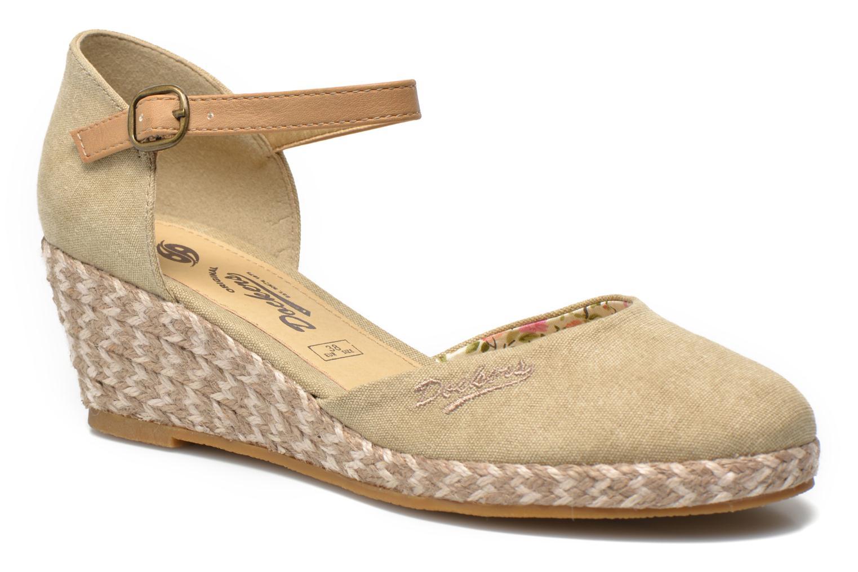Sandales et nu-pieds Dockers Valet Beige vue détail/paire