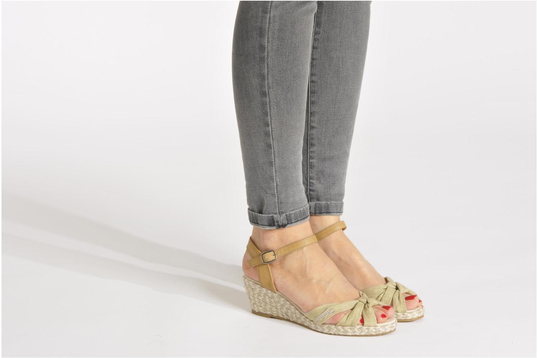 Sandales et nu-pieds Dockers Jekky Beige vue bas / vue portée sac