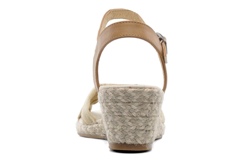 Sandales et nu-pieds Dockers Jekky Beige vue droite