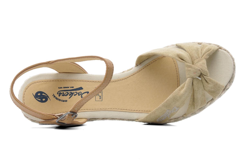 Sandales et nu-pieds Dockers Jekky Beige vue gauche