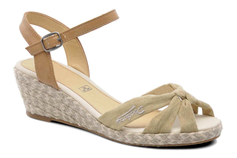 Sandales et nu-pieds Dockers Jekky Beige vue détail/paire