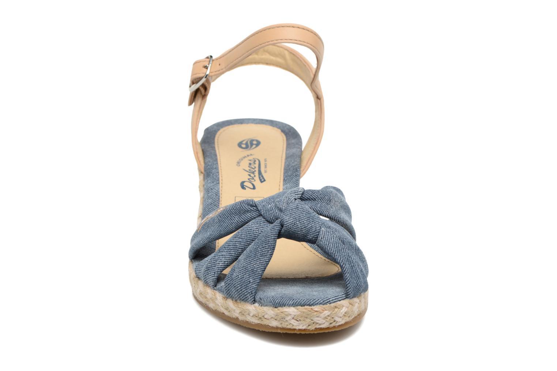Sandales et nu-pieds Dockers Jekky Bleu vue portées chaussures