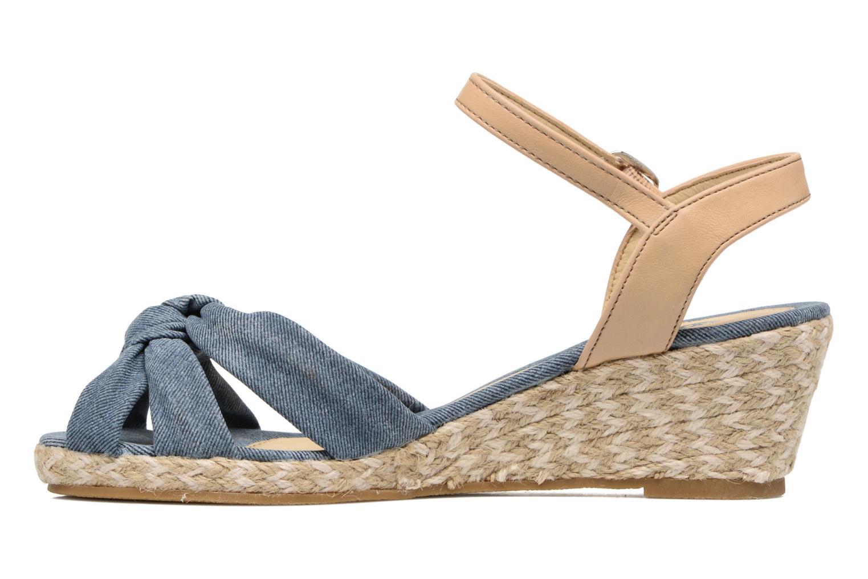 Sandales et nu-pieds Dockers Jekky Bleu vue face