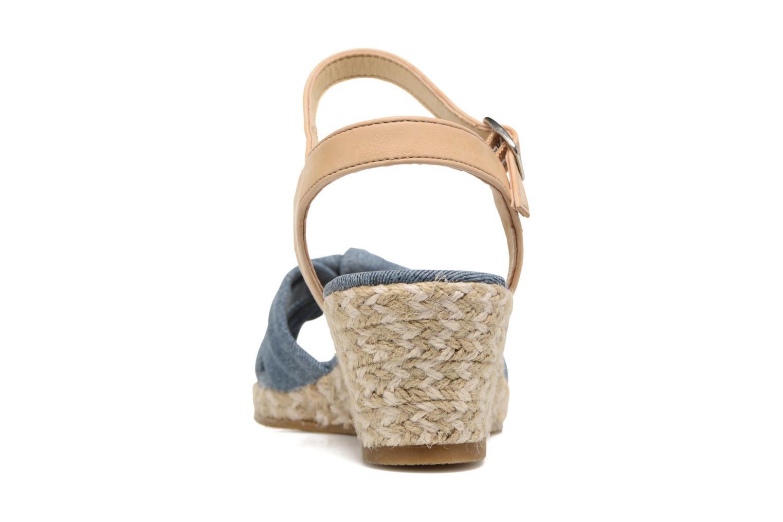 Sandales et nu-pieds Dockers Jekky Bleu vue droite