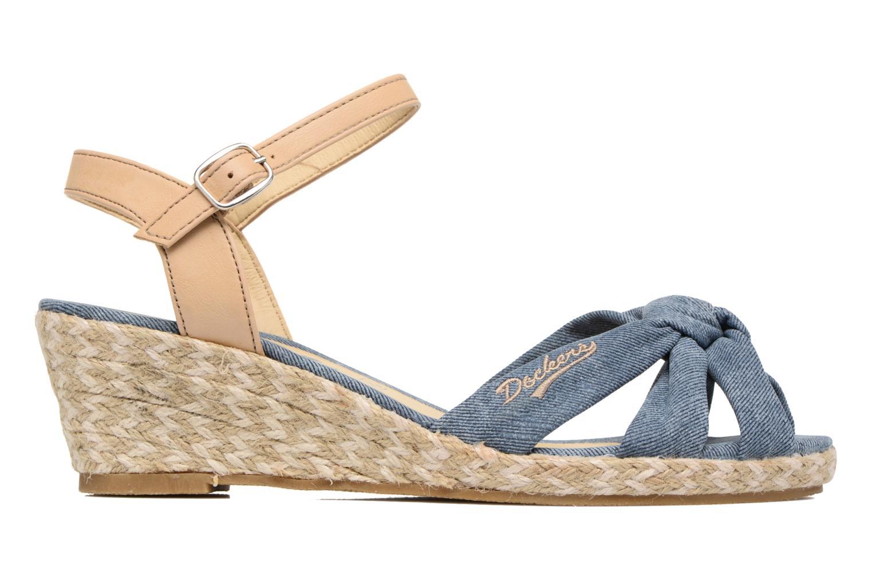 Sandales et nu-pieds Dockers Jekky Bleu vue derrière