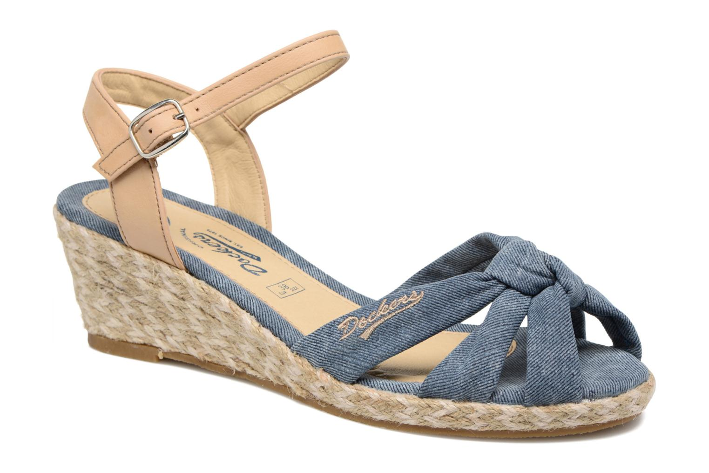 Sandales et nu-pieds Dockers Jekky Bleu vue détail/paire