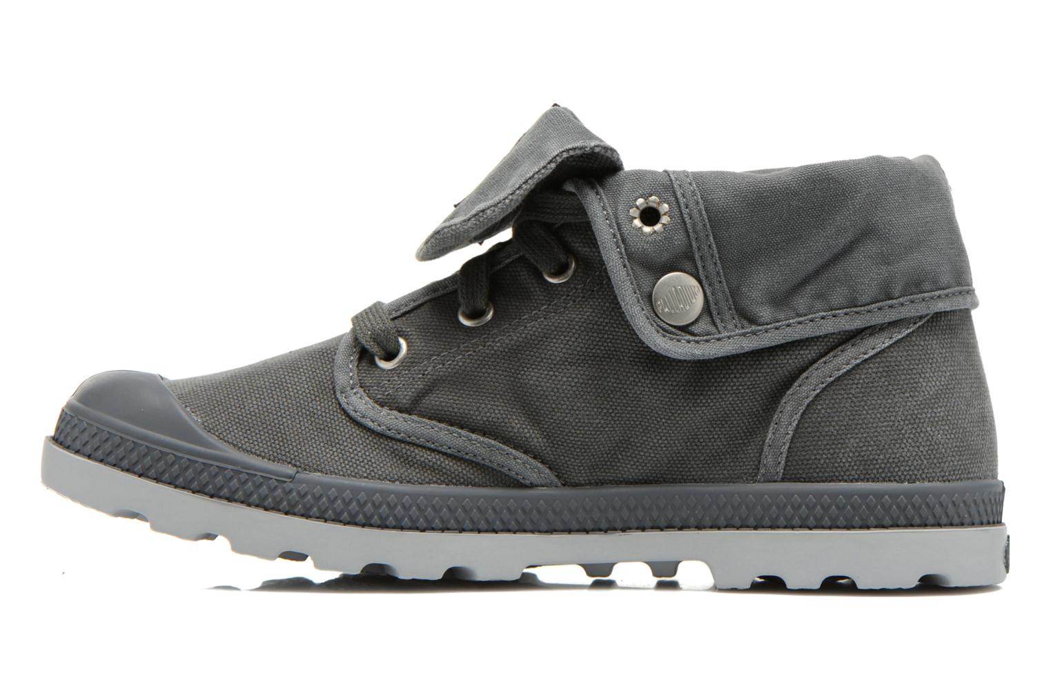 Trainers Palladium Baggy Low Lp F Grey front view