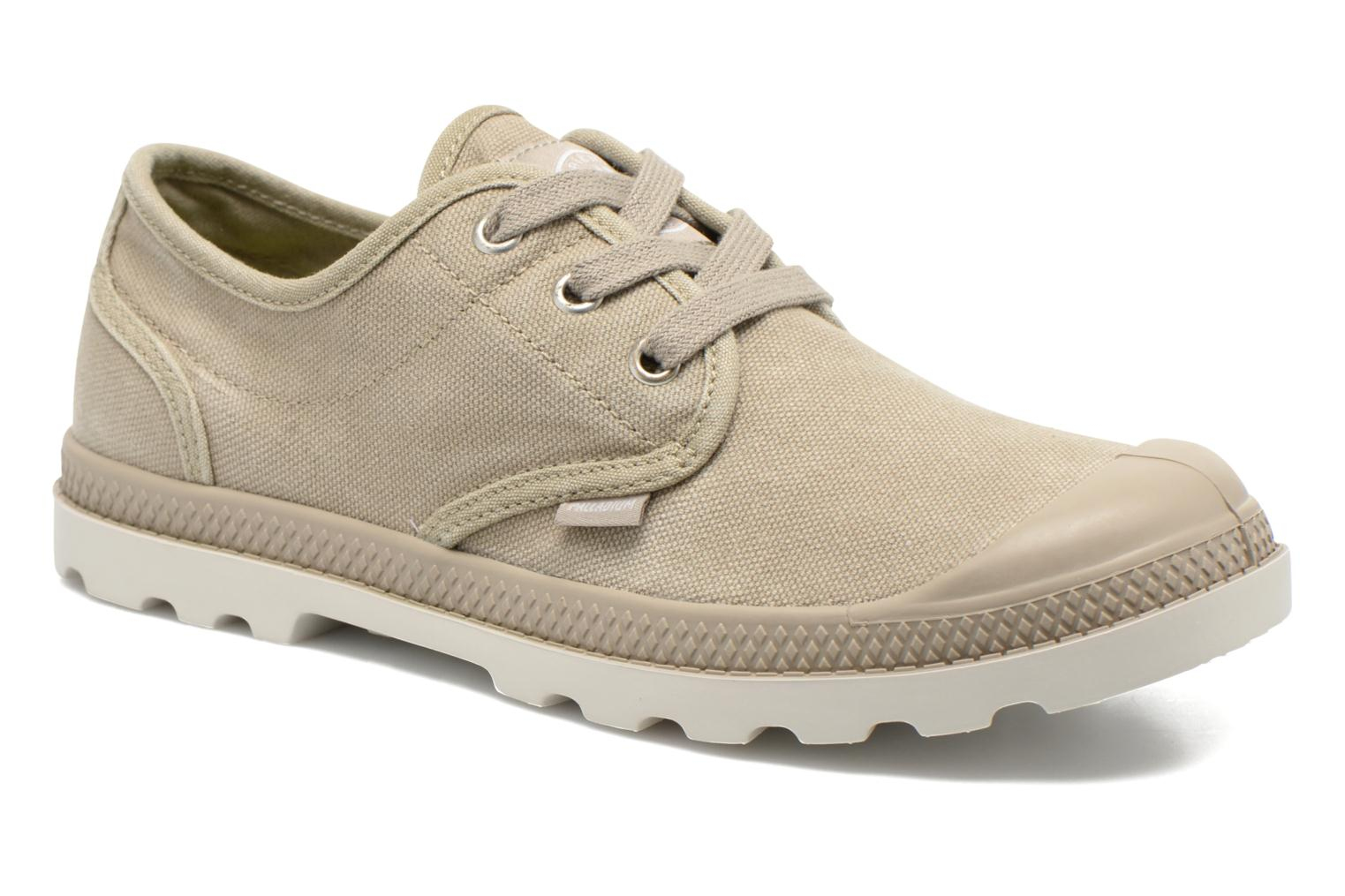 Baskets Palladium Us Oxford Lp F Beige vue détail/paire