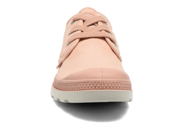 Baskets Palladium Us Oxford Lp F Rose vue portées chaussures