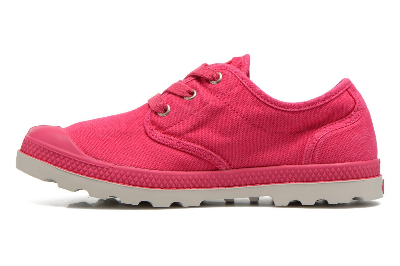Sneaker Palladium Us Oxford Lp F rosa ansicht von vorne