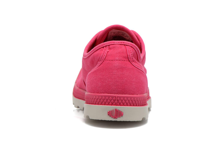Sneaker Palladium Us Oxford Lp F rosa ansicht von rechts
