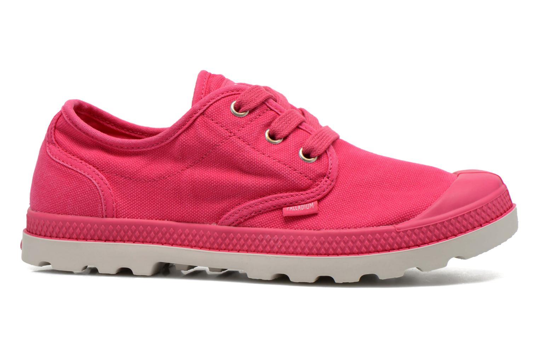 Sneaker Palladium Us Oxford Lp F rosa ansicht von hinten