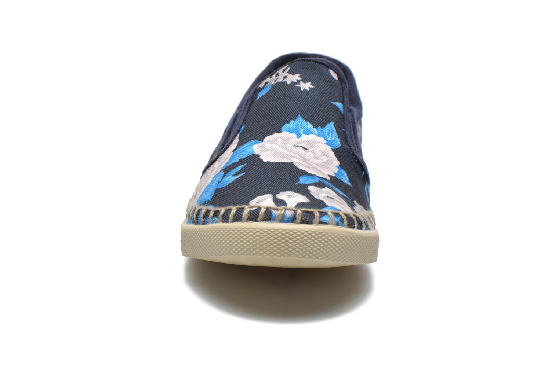 Baskets P-L-D-M By Palladium Bora Big Flower Bleu vue portées chaussures