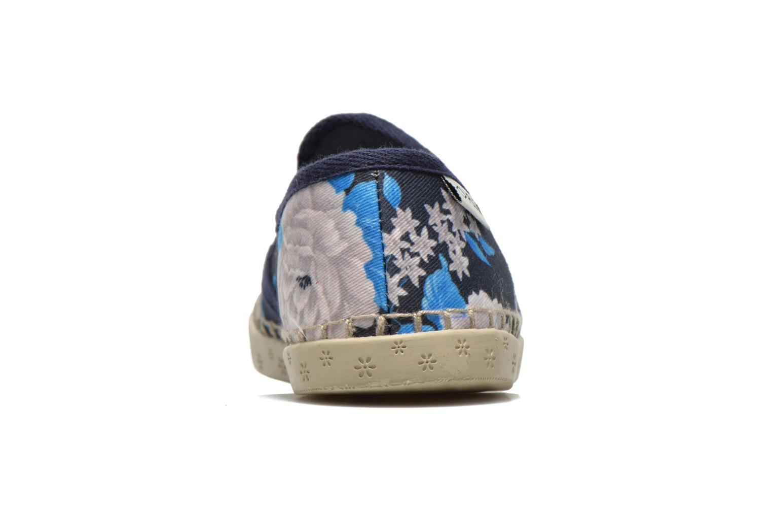Trainers P-L-D-M By Palladium Bora Big Flower Blue view from the right