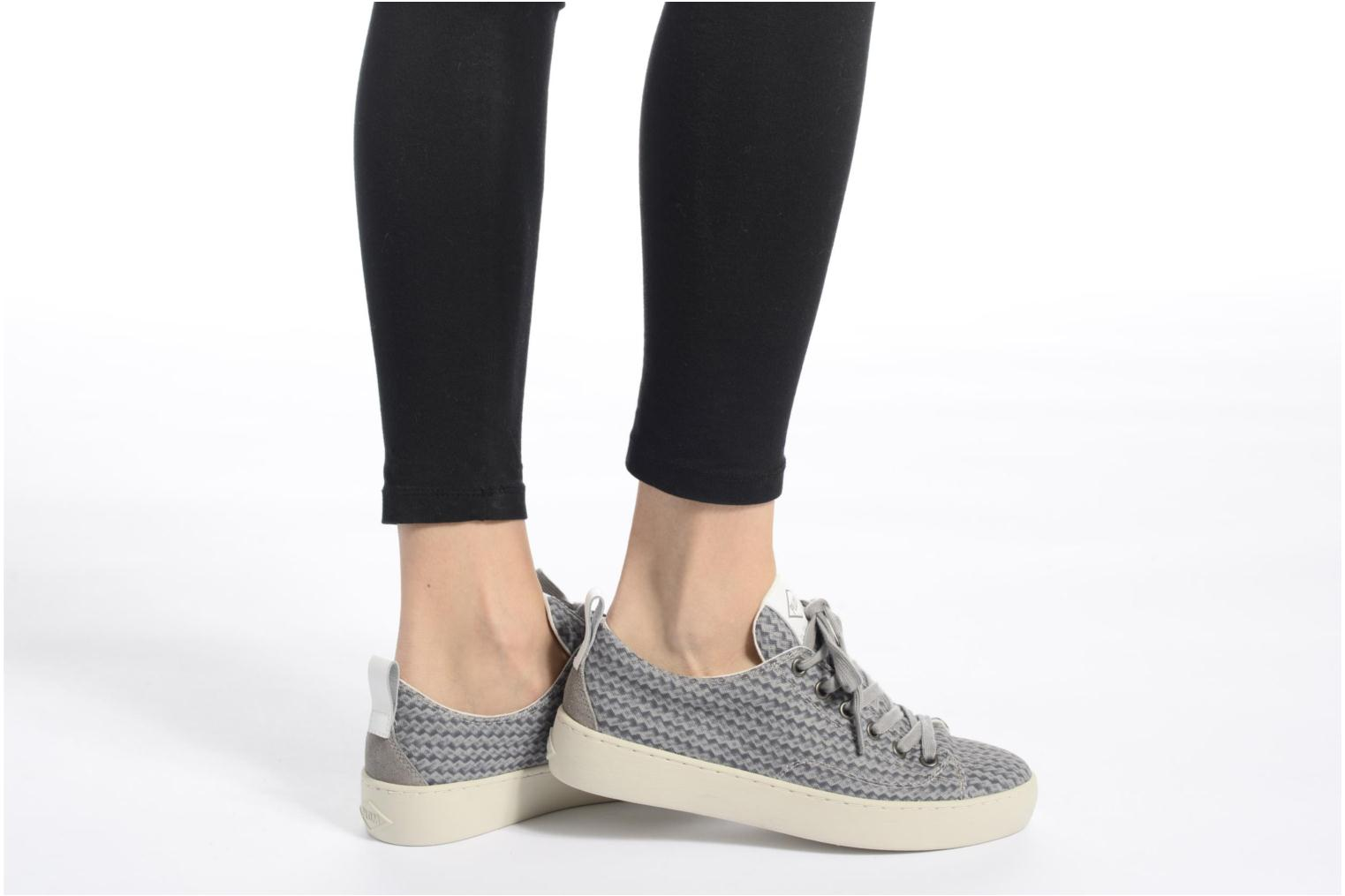 Trainers P-L-D-M By Palladium Ganama Print Grey view from underneath / model view