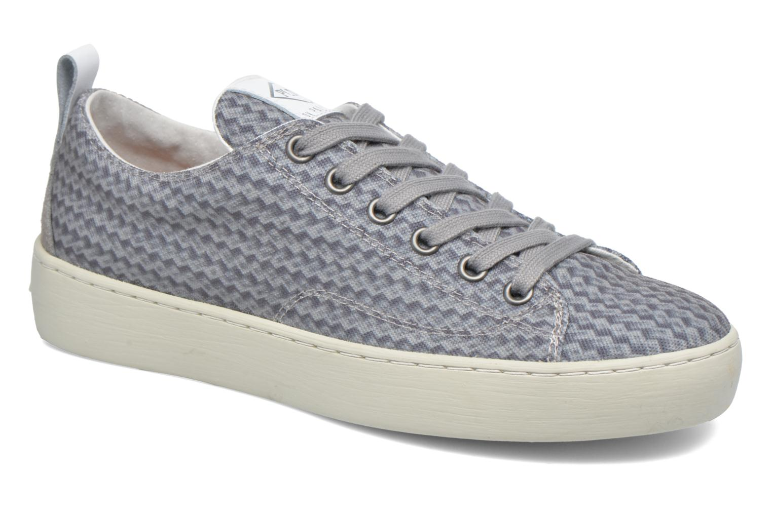 Trainers P-L-D-M By Palladium Ganama Print Grey detailed view/ Pair view