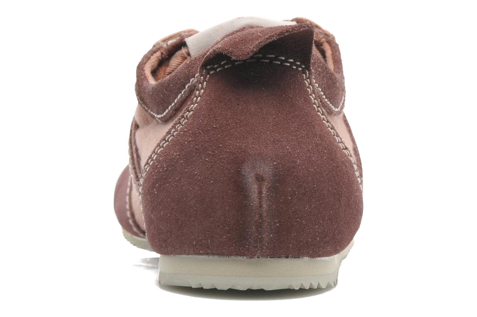 Trainers P-L-D-M By Palladium Rockville Burgundy view from the right