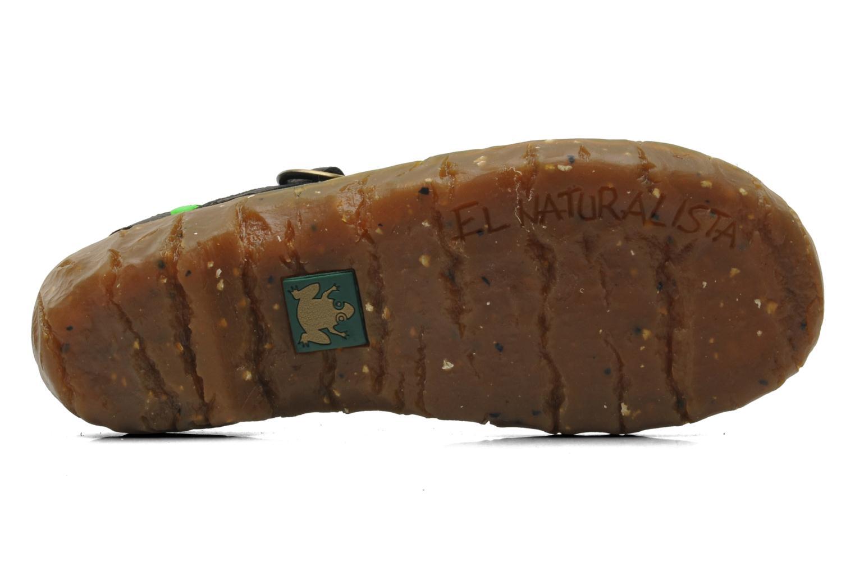 Sandales et nu-pieds El Naturalista Yggdrasil N178 Noir vue haut
