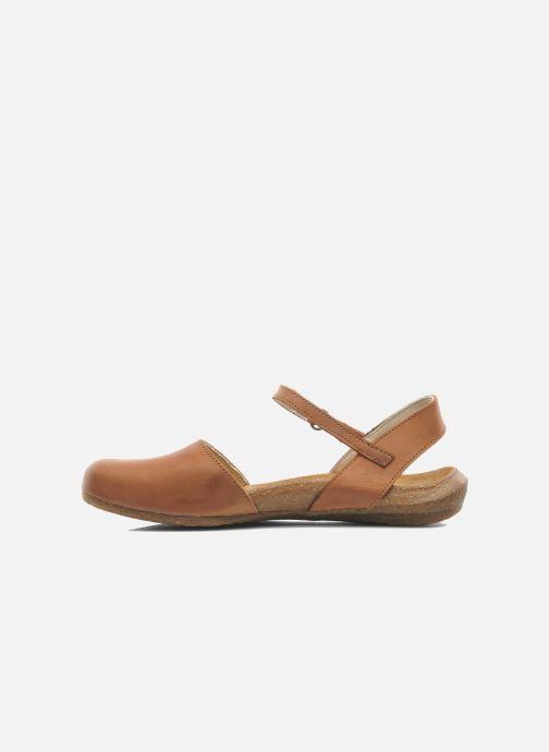 Sandali e scarpe aperte El Naturalista Wakataua N412 Marrone immagine frontale