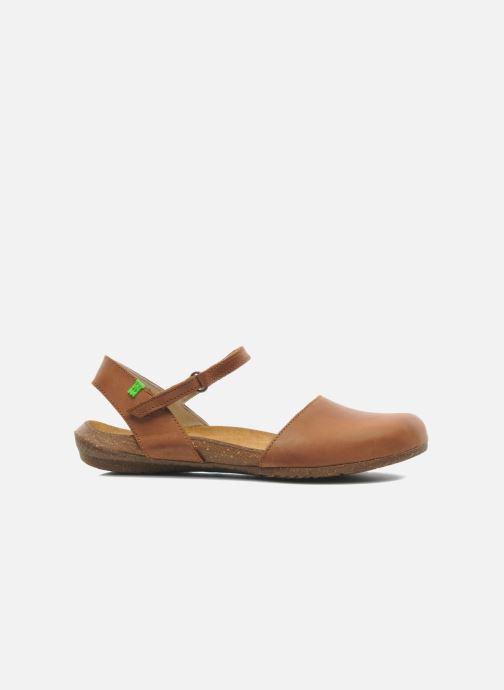 Sandali e scarpe aperte El Naturalista Wakataua N412 Marrone immagine posteriore