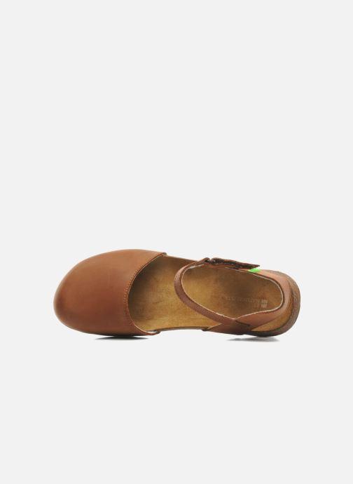 Sandales et nu-pieds El Naturalista Wakataua N412 Marron vue gauche