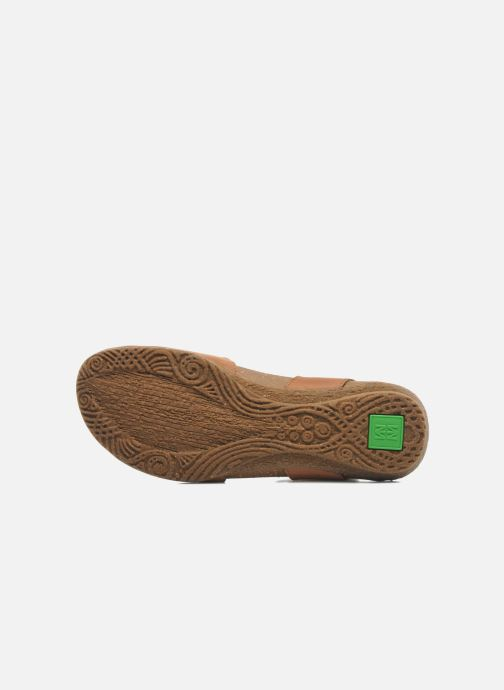 Sandales et nu-pieds El Naturalista Wakataua N412 Marron vue haut