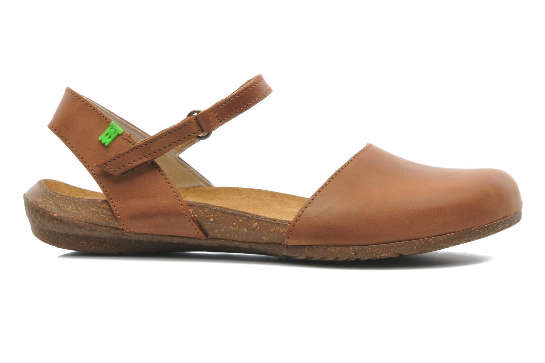 Sandales et nu-pieds El Naturalista Wakataua N412 Marron vue derrière