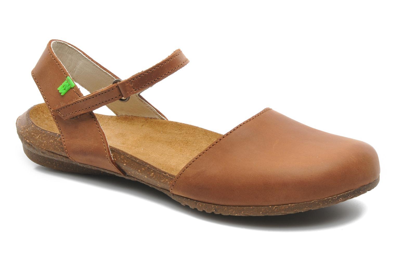 Sandales et nu-pieds El Naturalista Wakataua N412 Marron vue détail/paire