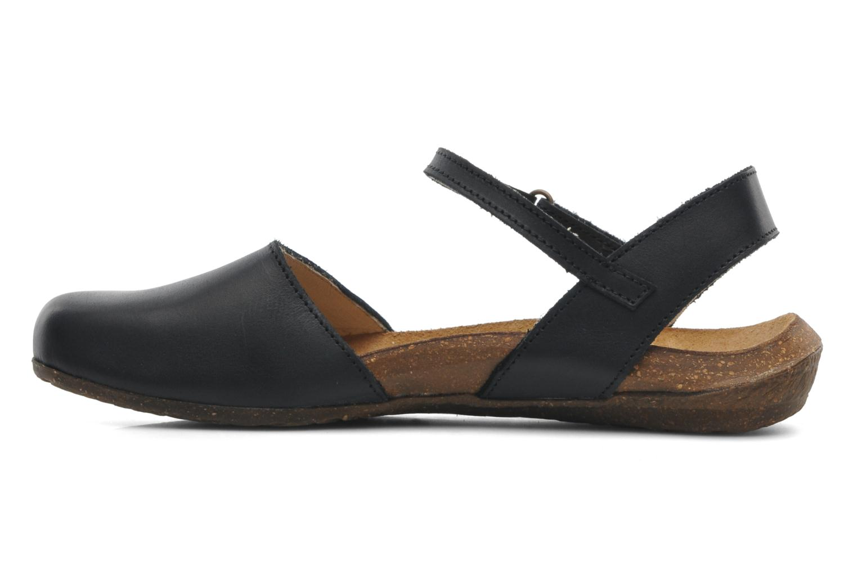 Sandales et nu-pieds El Naturalista Wakataua N412 Noir vue face