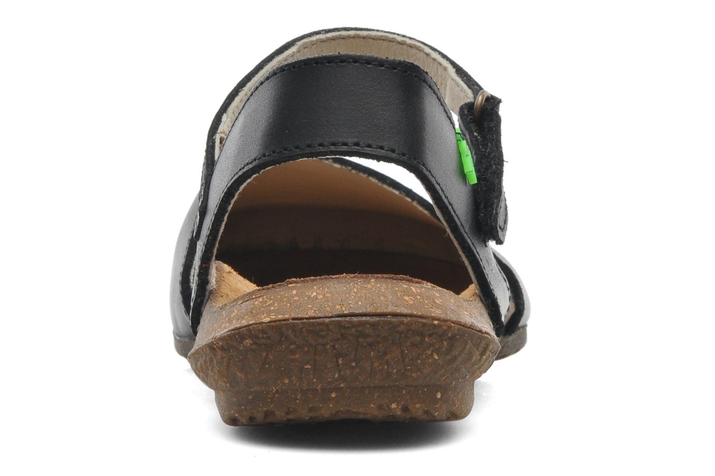 Sandales et nu-pieds El Naturalista Wakataua N412 Noir vue droite