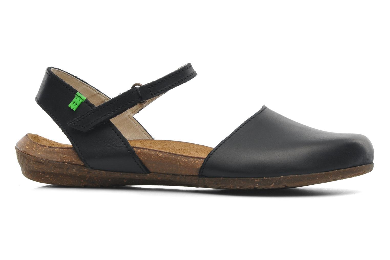 Sandales et nu-pieds El Naturalista Wakataua N412 Noir vue derrière