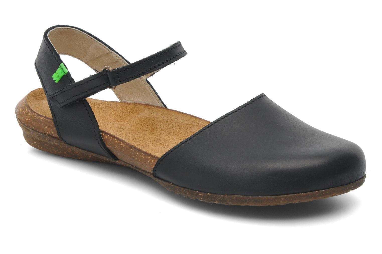 Sandales et nu-pieds El Naturalista Wakataua N412 Noir vue détail/paire