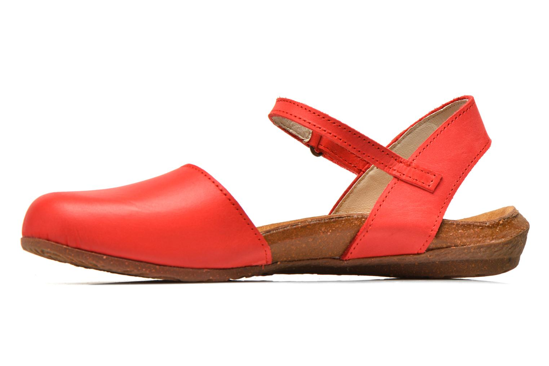 Sandales et nu-pieds El Naturalista Wakataua N412 Rouge vue face